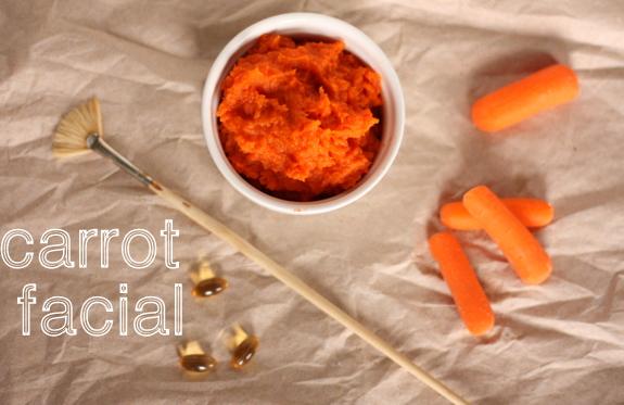 Mặt nạ cà rốt mật ong
