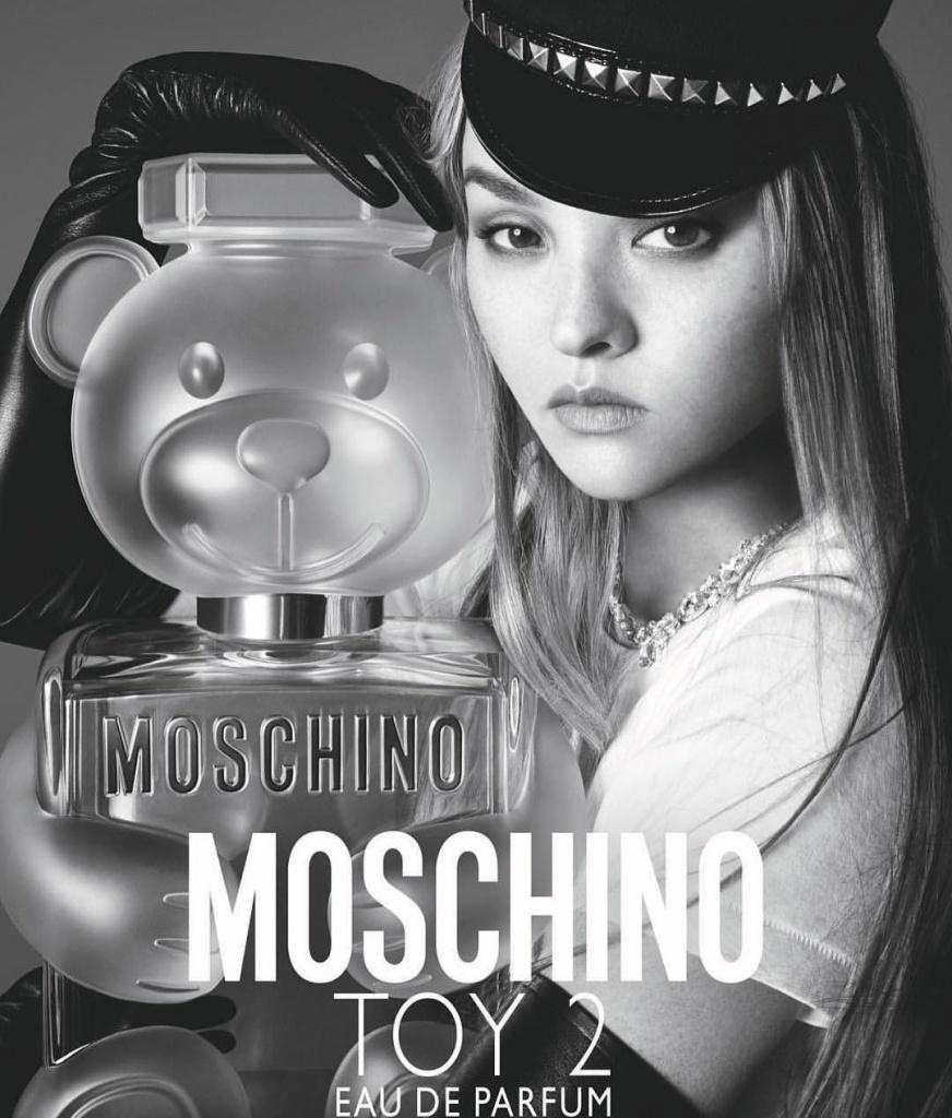 Nước hoa Moschino Toy 2 EDP do người mẫu Kendall Jenner làm đại diện