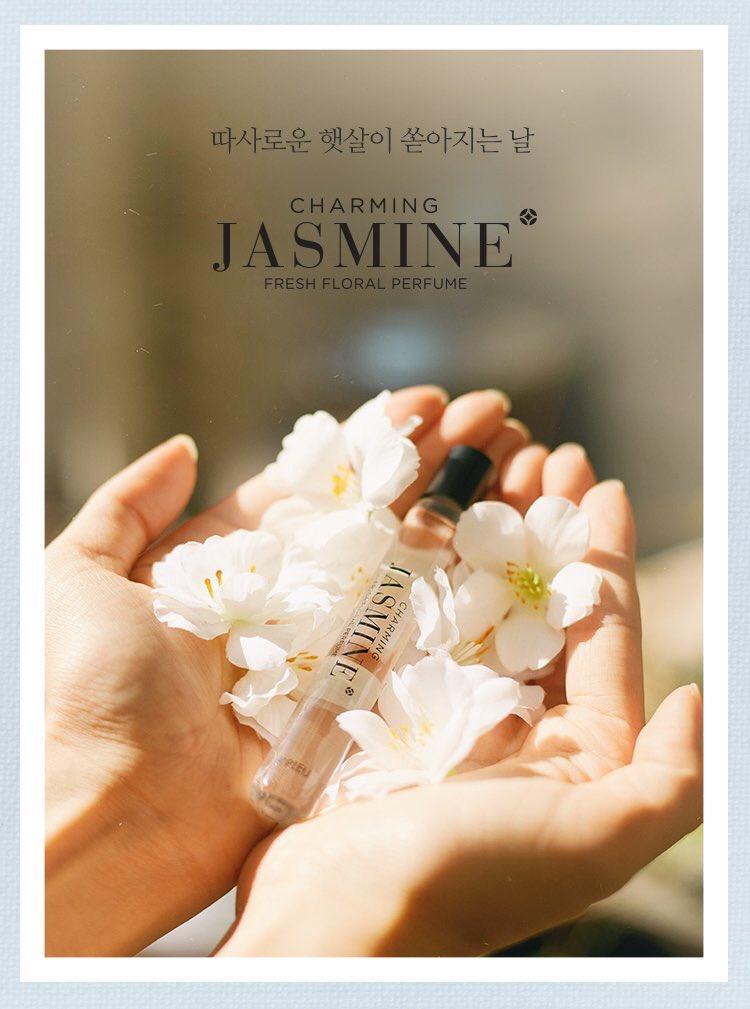 Mùi hương thư giãn, thanh mát - nước hoa dạng lăn A'pieu Jasmine
