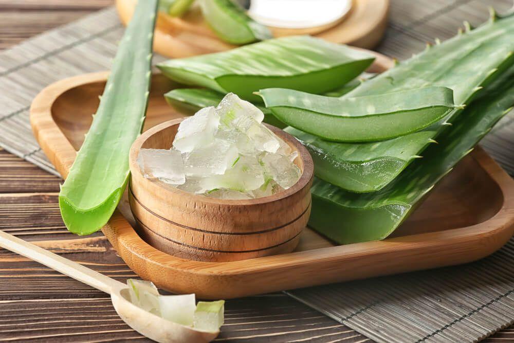 Dưỡng ẩm và trị thâm môi bằng nha đam, vitamin E và dầu dừa